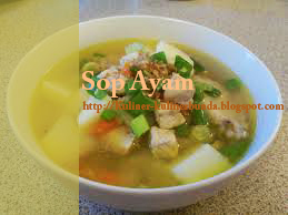 Resep Sop Ayam