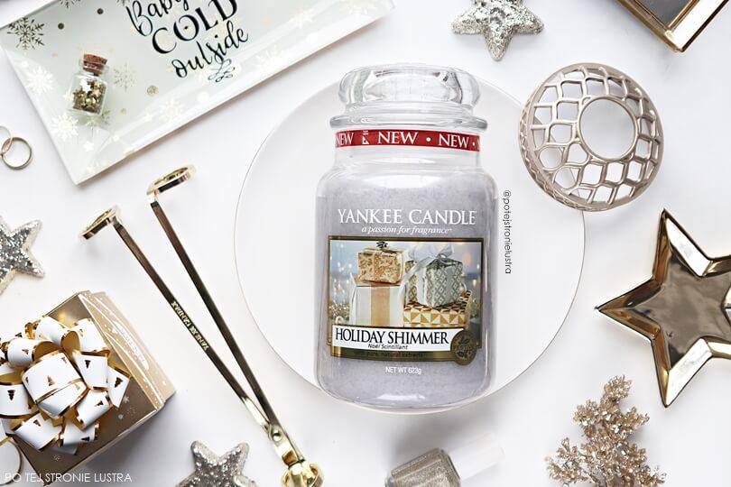 yankee candle holiday shimmer zapach limitowany na święta 2018