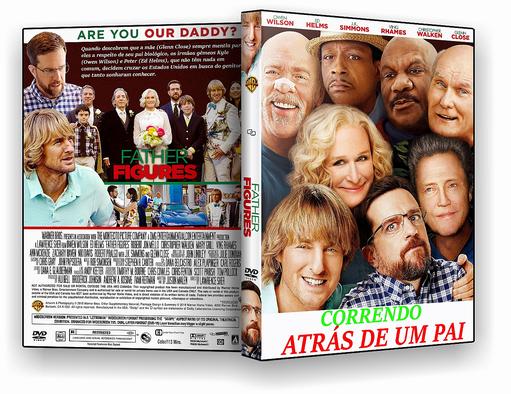 DVD-R – Correndo Atras de Um Pai – AUTORADO