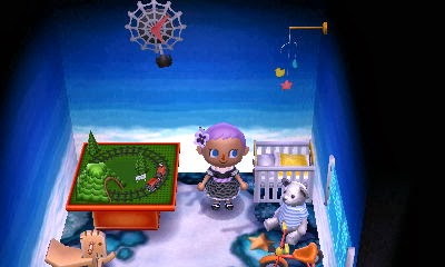 Animal Crossing: New Leaf - little boy nursery decorations