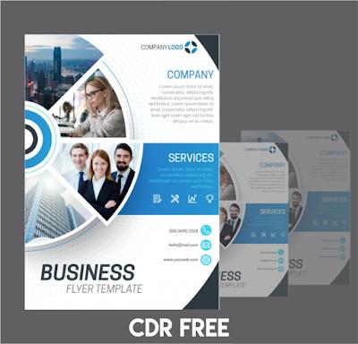 Jasa Desain Business Flyer Cdr-Ai