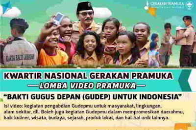 Kwarnas Gelar Lomba Video Aktivitas Gugusdepan Pramuka