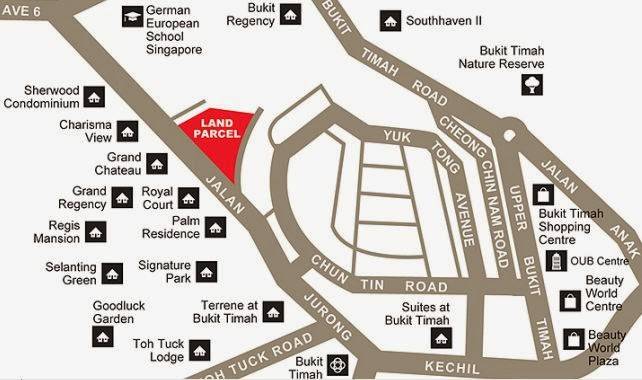 The Hillford Jurong Location
