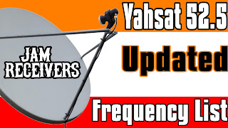 Yahsat 52.5 Updated Frequency List 2018 With Dish Pic