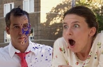 Funny Video | Throwing PAINT to the FACE Prank