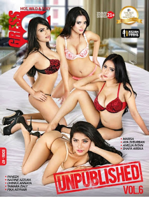 Download GRESS Magazine No. 67 - Desember 2018 PDF : Tamar Zialy, Faneza, Safa Ariska, Nadine Azzura, Ayu 3Veurban, Amelia Intan, Fika Asyari, Marisa