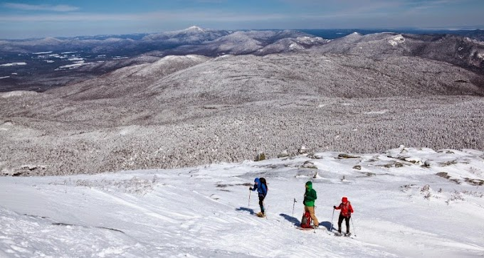 Snowshoeing Mount Marcy (NY, USA) - 5,343 ft (1,629 m)