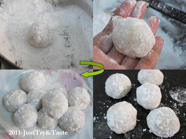 Resep Kue Mochi Isi Pasta Kacang Hijau