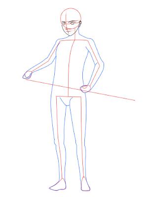 cara menggambar Sasuke Hebi tahap 9