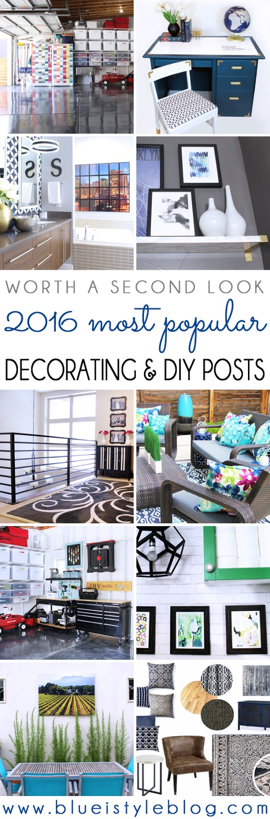 most popular decorating and DIY blog projects