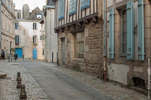 Quimper Bretaña Normandia viaje