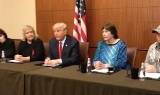 Trump Presents Hillary's Accusers