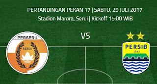 Prediksi Perseru Serui vs Persib Bandung 29 Juli 2017
