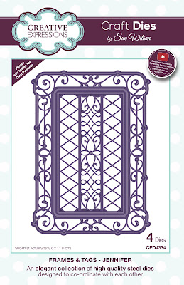 Creative Expressions Frames and Tags Collection Jennifer Dies CED4334