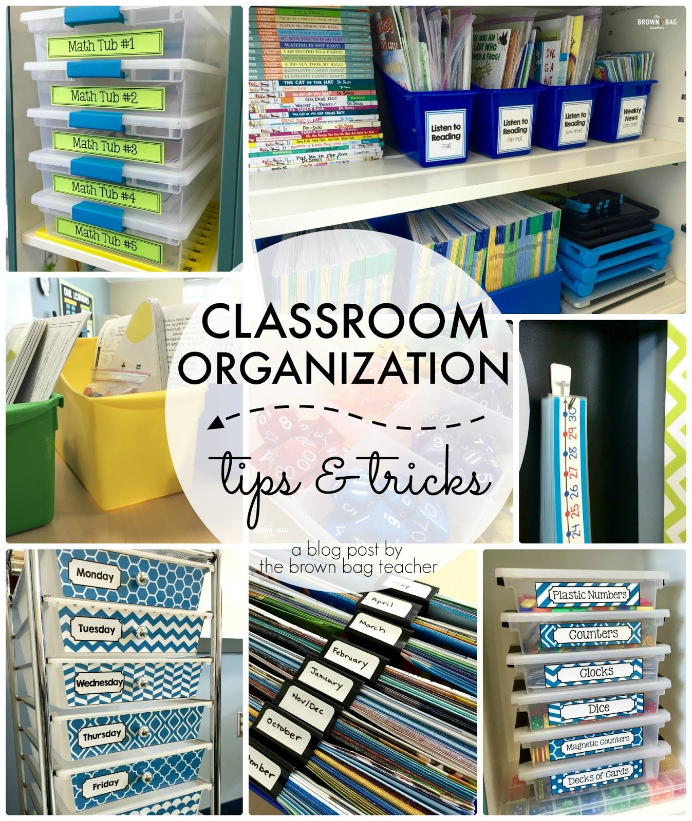 Classroom Organization: Tips and Tricks - The Brown Bag Teacher