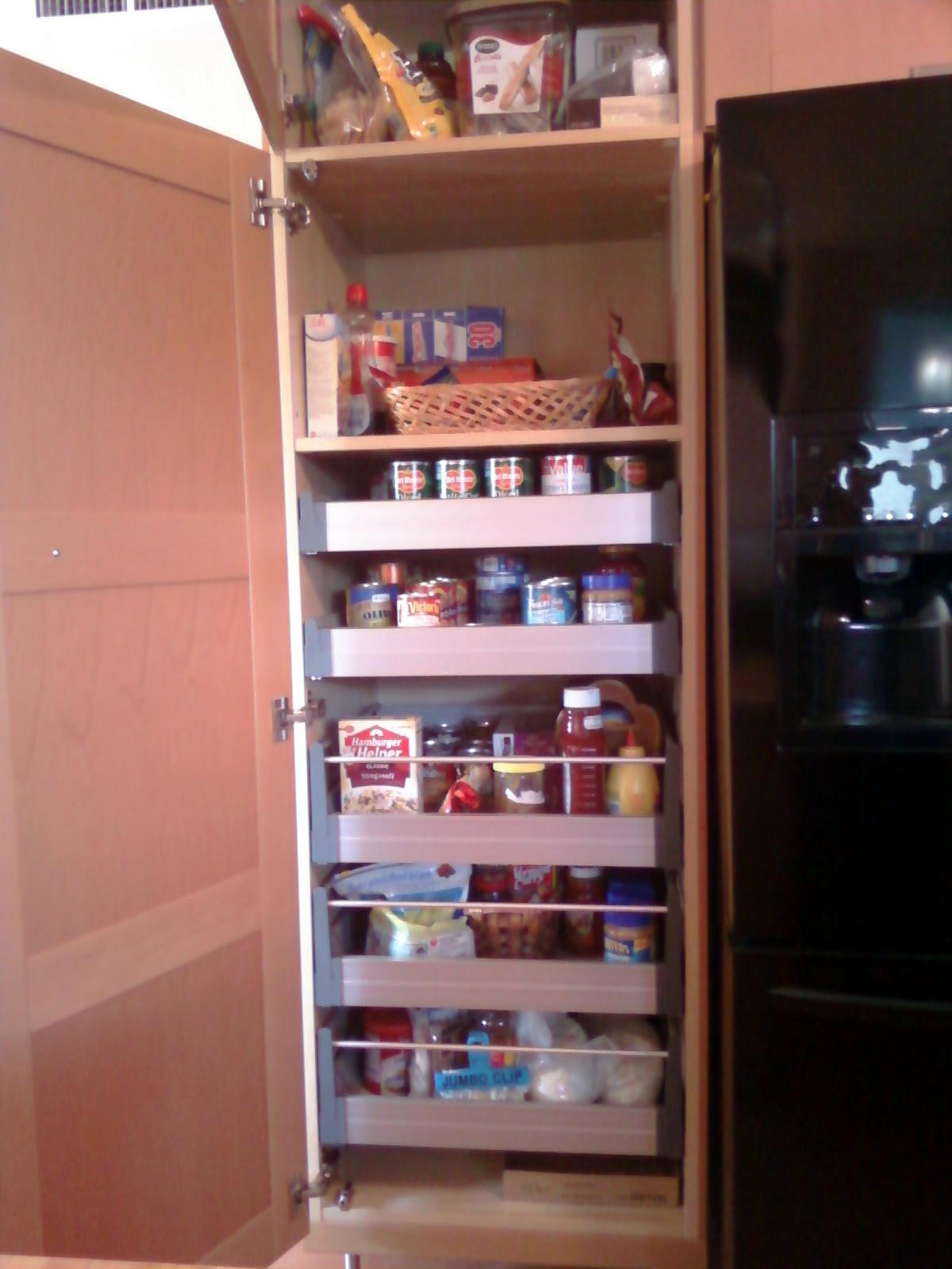 √ kitchen pantry cabinet ikea