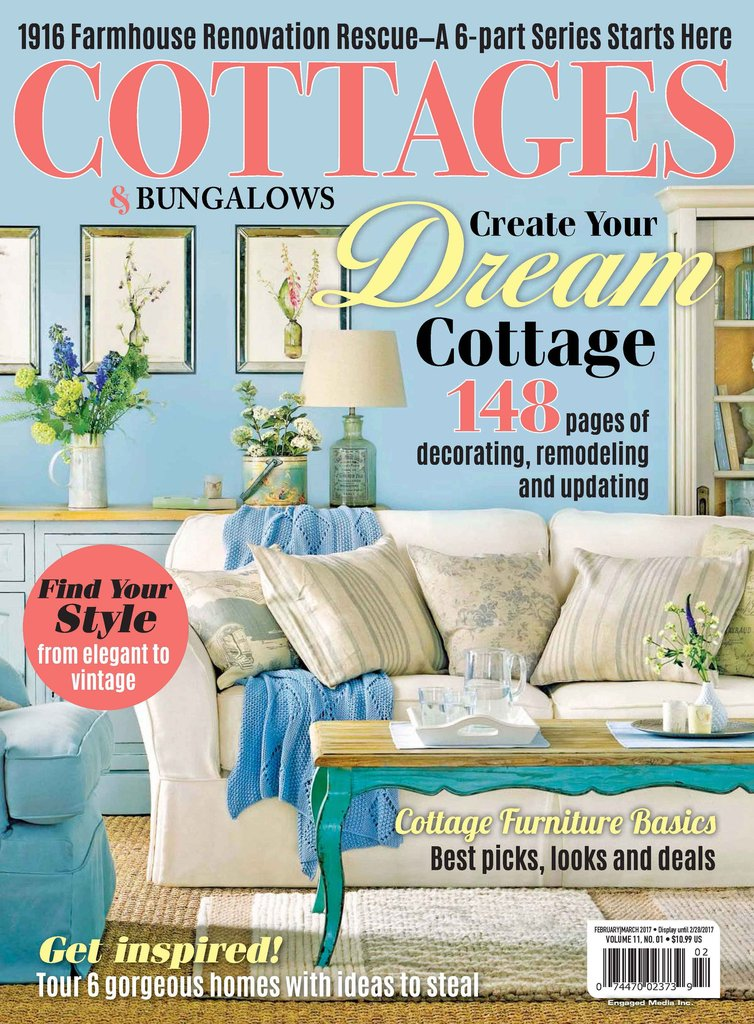 Enjoy House Tours, Expert Tips, Inspiring Stories, And Beautiful Images  That Empower You To Create A Cottage Lifestyle In Any Home.