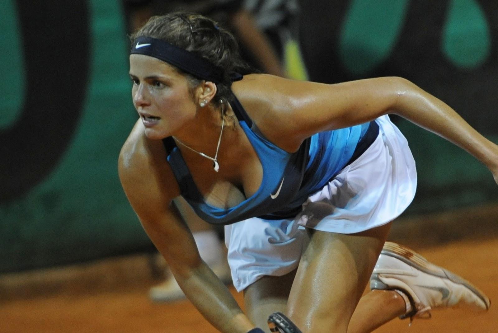 Tennis Central Wta Julia Goerges - Allemagne-1495