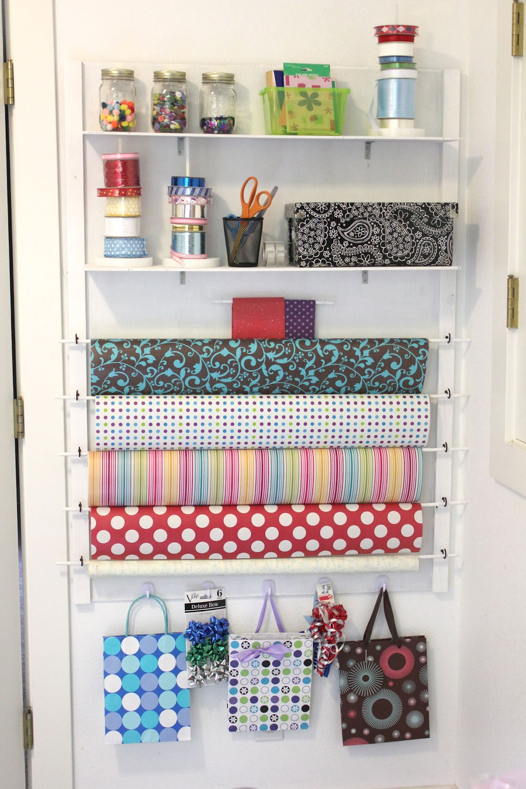 Diy Gift Wrap Station Repeat Crafter Me