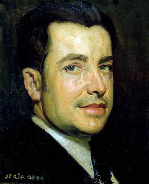 Francisco Soria Aedo, Self Portrait, Portraits of Painters, Fine arts, Francisco Soria, Portraits of painters blog, Paintings of Francisco Soria, Painter Francisco Soria