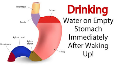 Drinking Water In The Morning On An Empty Stomach Is A Natural Medicine