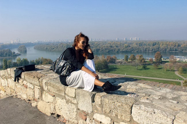 Kalemegdan Park visit in fall