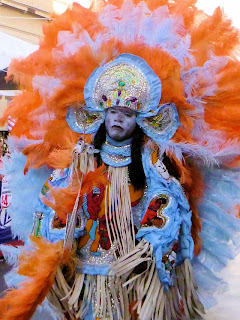 Mardi Gras Indians & Sweet & Spicy Chili