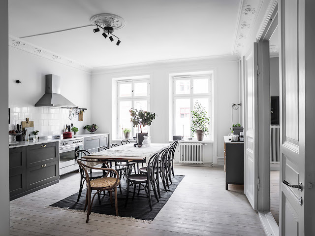 Amazing scandinavian elegance in great interior