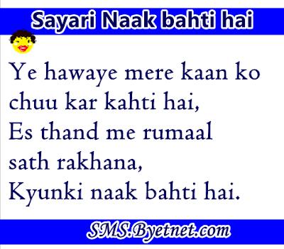 thand-hindi-sayari