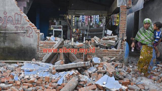 Foto: Berikut Foto Akibat Gempa 7.0 SR yang Menimpa Wilayah Lombok