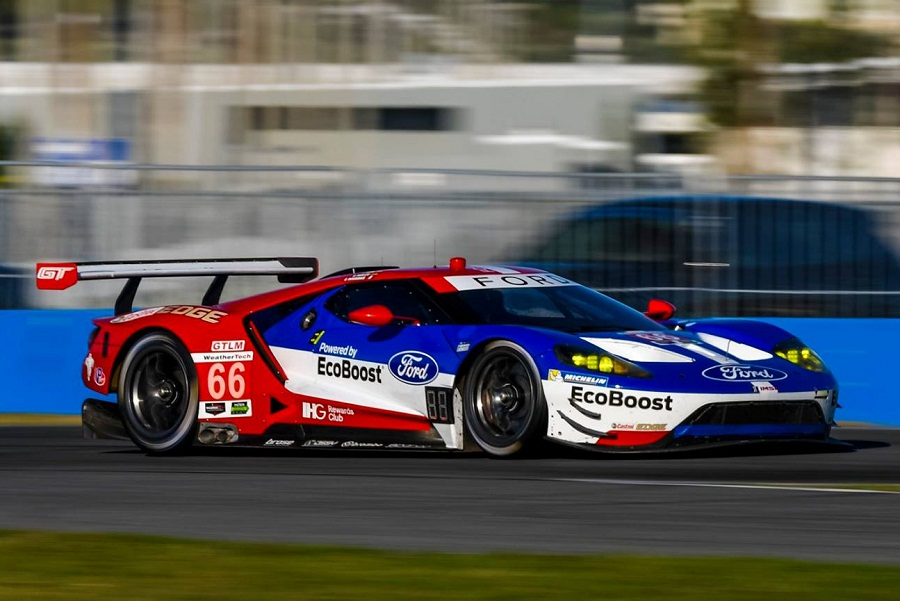 A Complete Ford Chip Ganassi Racing Domination In Rolex  Qualifying