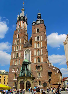 St Mary's Church Krakow Poland