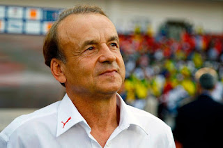 Rohr reacts to Super Eagle's loss to South Africa in Uyo Last night