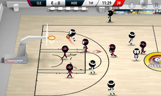 Stickman Basketball 2017 Apk v1.1.2 Mod (Unlocked)