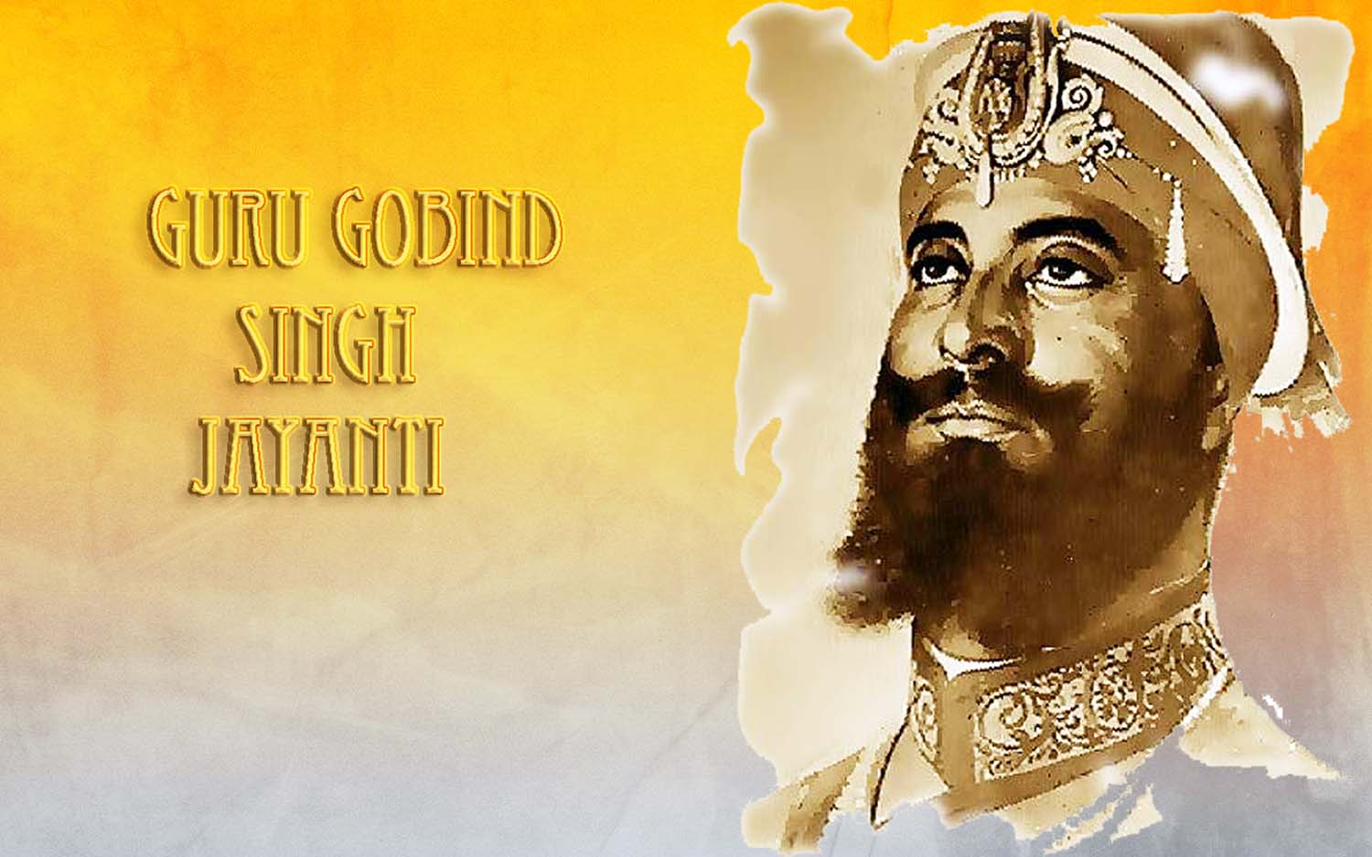 original picture of guru gobind singh ji