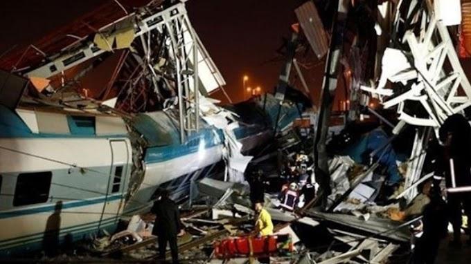 Τουρκία: Σιδηροδρομικό δυστύχημα, υπάρχουν θύματα