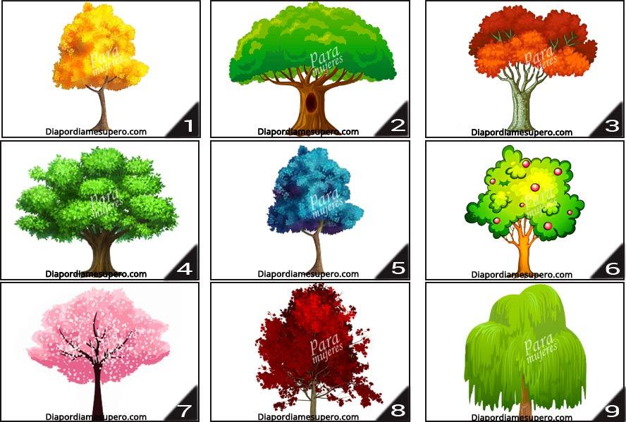 Elige  un árbol para saber qué cambios te depara el nuevo año