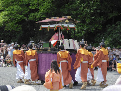 京都御苑・葵祭 斎王代(さいおうだい)