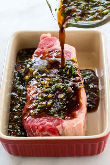 The Best Steak Marínade