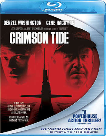 Poster Of Crimson Tide 1995 English 300MB BRRip 480p ESubs Free Download Watch Online