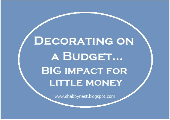 Decorating Your Home On A Budget Big Impact For Little Money