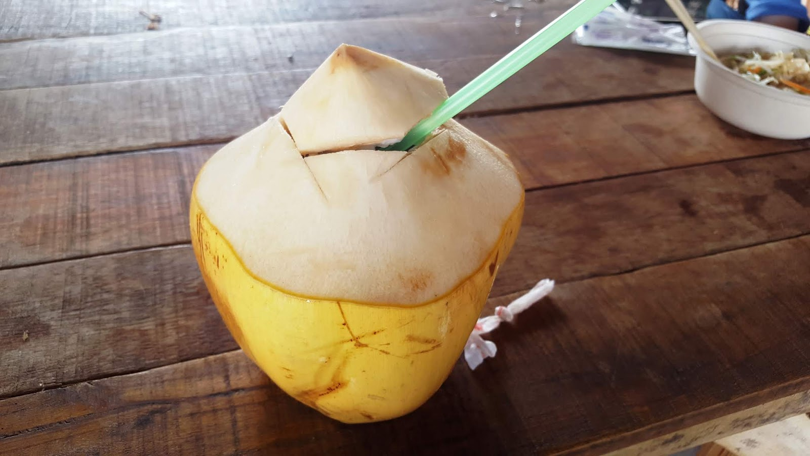 泰國四方水上市場-椰子