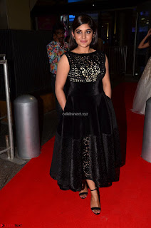 Niveda Thomas Black Sleeveless Cute Dress at 64th Jio Filmfare Awards South 2017 ~  Exclusive 024.JPG