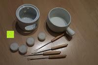ausgepackt: Janazala Schokoladen Fondue-Set Für 4 Personen, Auch Als Butter Und Käse Fondue Geeignet