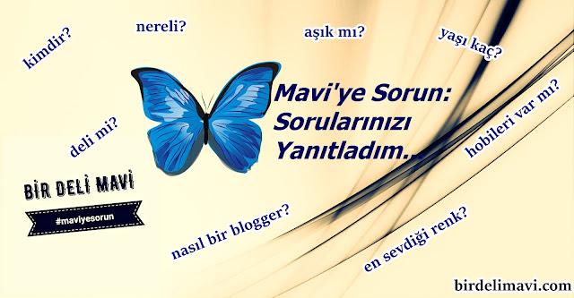 sorular ve yanıtlar, kişisel blog, bir deli mavi, gece, mavi