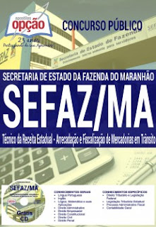 Apostila para o concurso 2016 da SEFAZ-MA