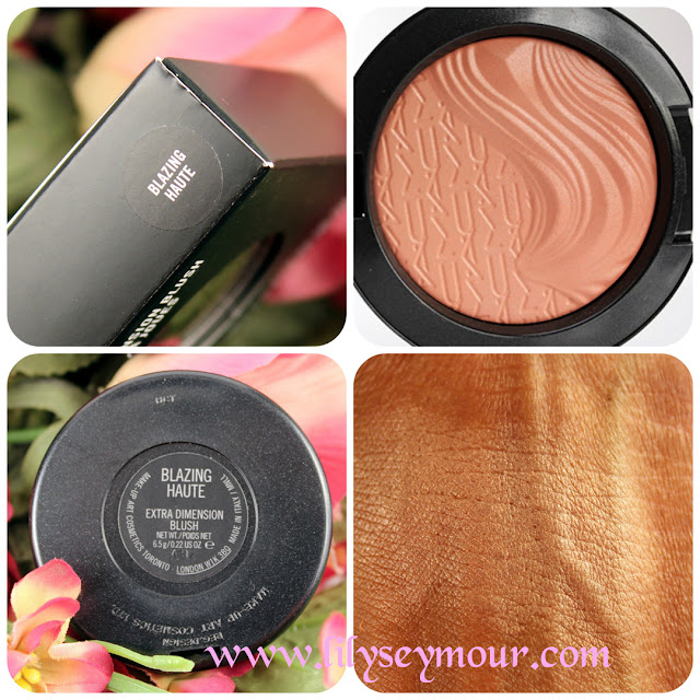 Mac Blazing Haute Extra Dimension Blush
