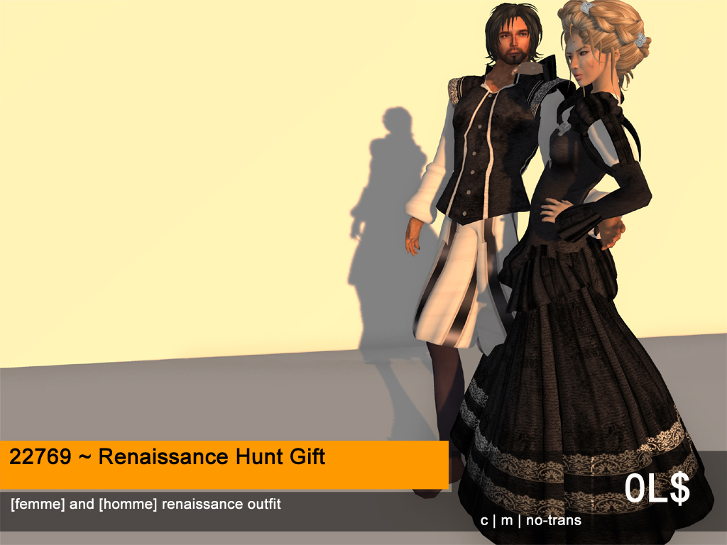 Historical Hunts, Ltd: The First Annual Renaissanc e Hunt is