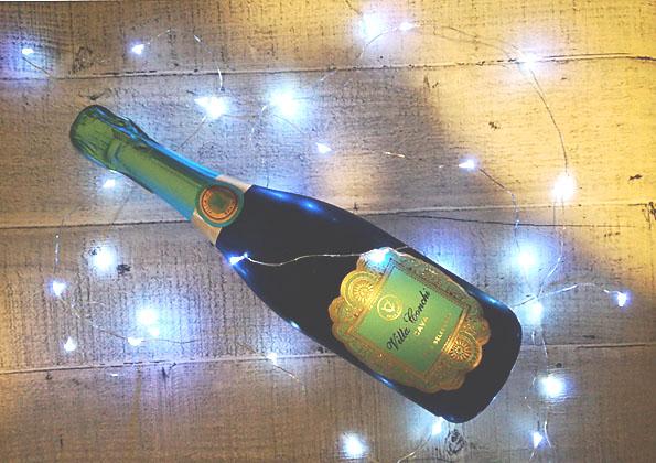 musujące wino z Biedronki