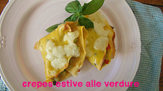 Crepes estive alle verdure!